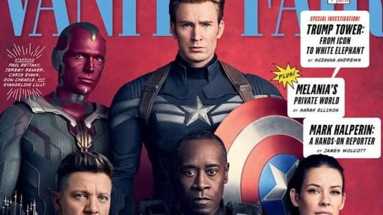 First look 'Avengers: Infinity War' Vanity Fair covers