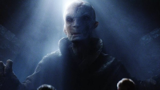 Who else did Snoke train in the Dark Side of the Force?  And who designed his Throne Room machinery?