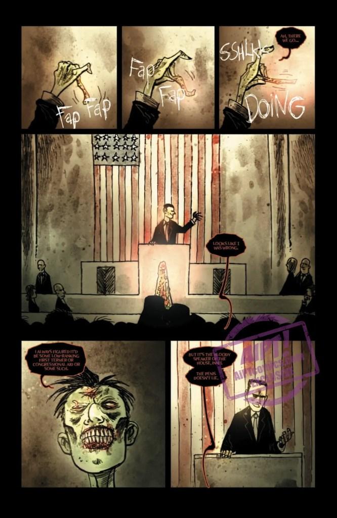 [EXCLUSIVE] IDW Preview: Wormwood, Gentleman Corpse: Mr. Wormwood Goes to Washington #3