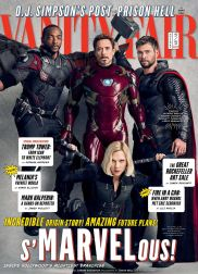 Falcon, Ironman, Thor and Black Widow