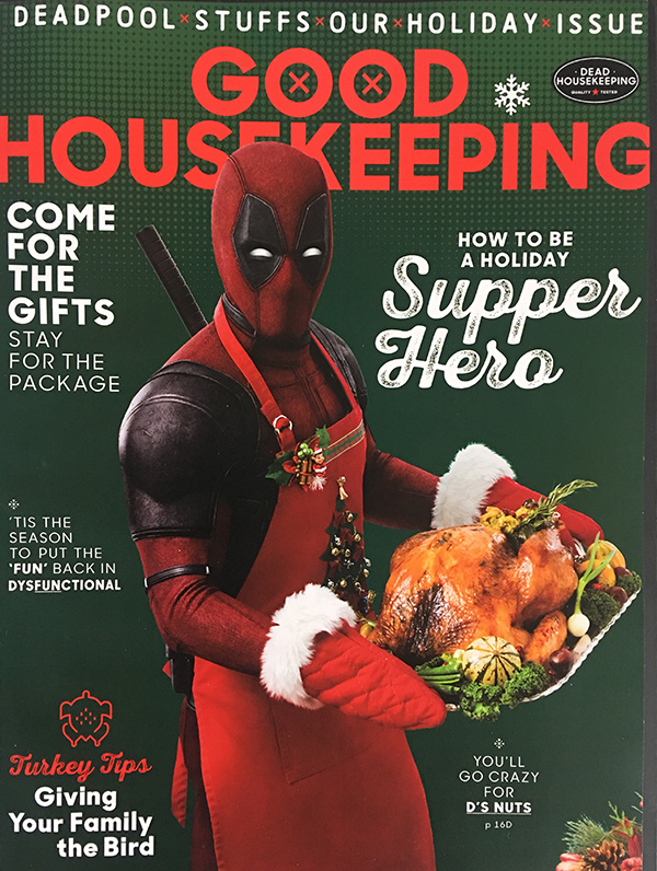 First 'Deadpool 2' movie poster reveals the Merc with a Mouth celebrating Thanksgiving