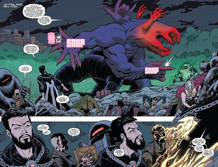 Doctor Strange and the Sorcerers Supreme Vol. 2: Time After Time review: Innovative comic storytelling