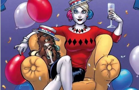 Jimmy Palmiotti and Amanda Conner kick off the beginning of the end of their unforgettable run on Harley Quinn with a powerful issue.