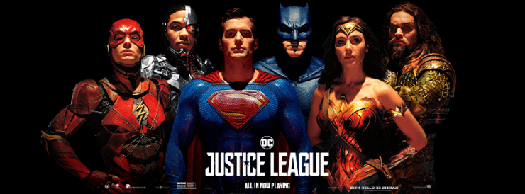 DC releases new official 'Justice League' poster and banner