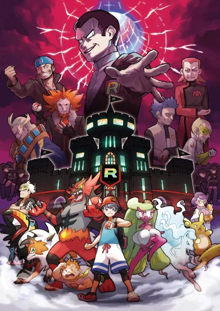 Pokémon Ultra Sun and Pokémon Ultra Moon bad guys revealed: Team Rainbow Rocket!