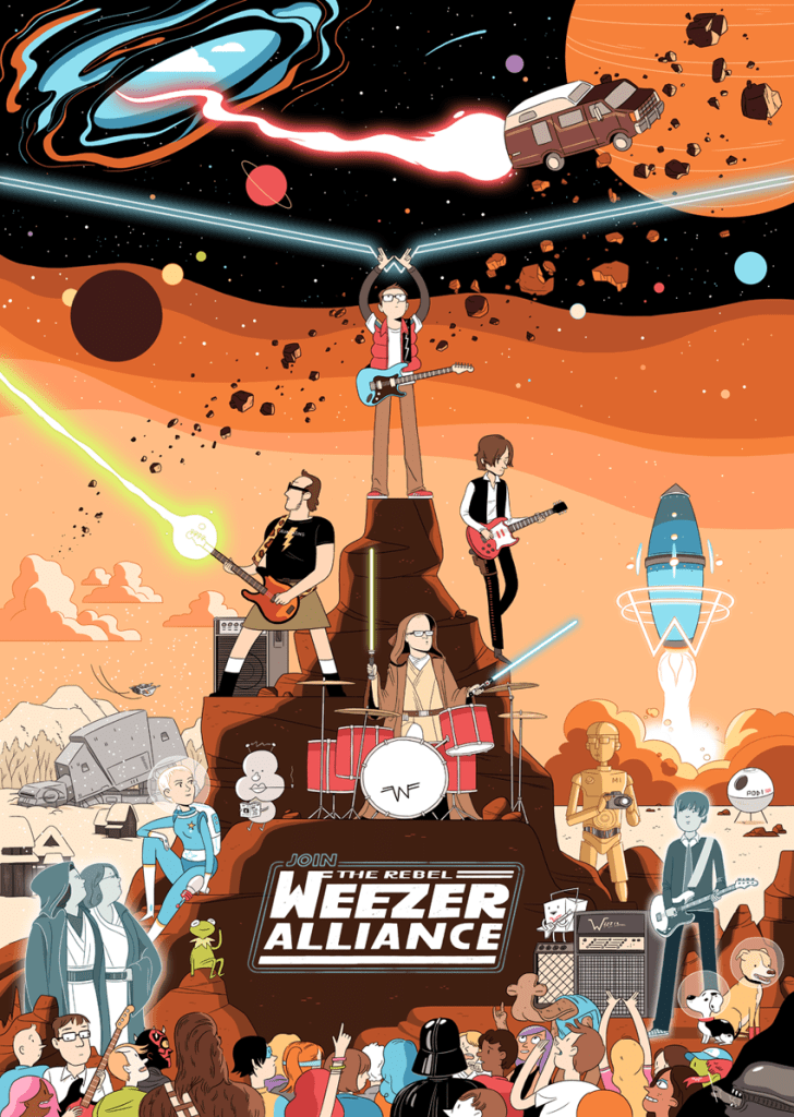 Weezer keeps it geeky with Hoth reference on new album 'Pacific Daydream'