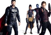 Thor, Shuri, Nebula and Star-Lord