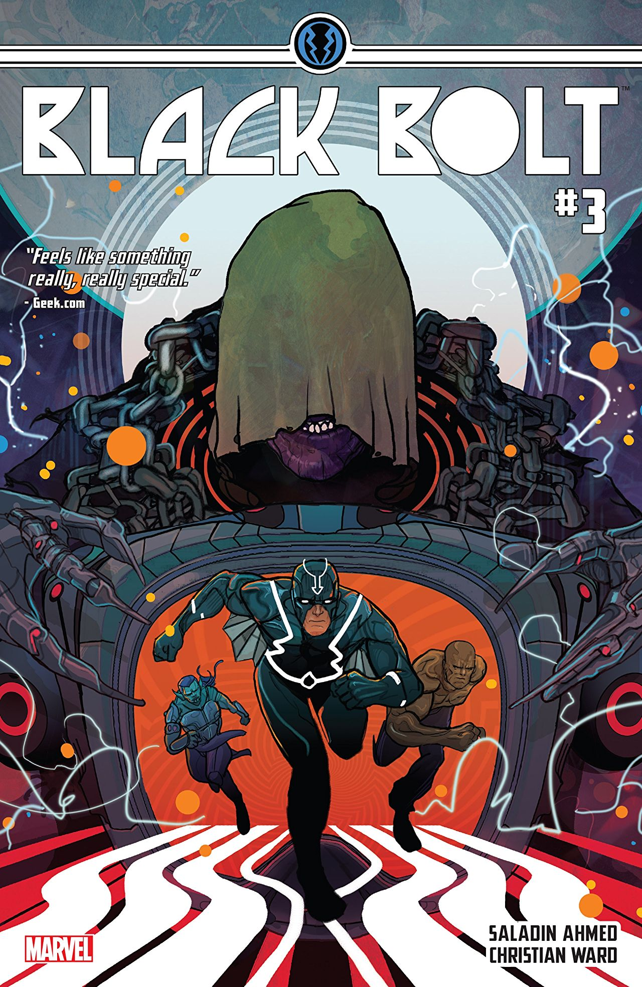 'Black Bolt Vol. 1: Hard Time' review: Viscerally stimulating