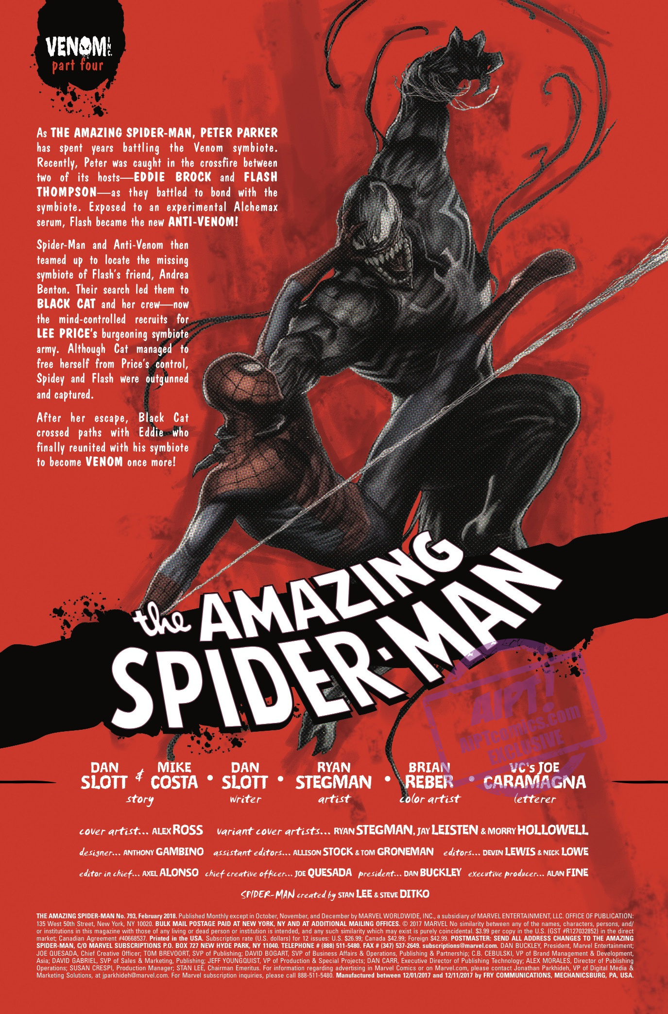 Amazing Spider-Man #793 Review