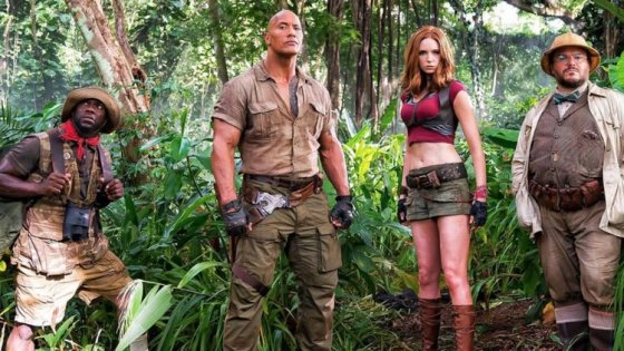 In 1995, the originalJumanji came out and became a childhood classic for those of us who grew up in the 90's. I was six-years-old at the time, and I thought it was so cool to see a board game come to life on the big screen. I later asked my parents to get me the VHS tape and that tape was played quite a few times over the next several years. I can't say I ever expected a sequel, but here we are twenty-two years later withJumanji: Welcome to the Jungle.