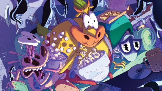"An interview with ""Rocko's Modern Life"" writer Ryan Ferrier and artist Ian McGinty."