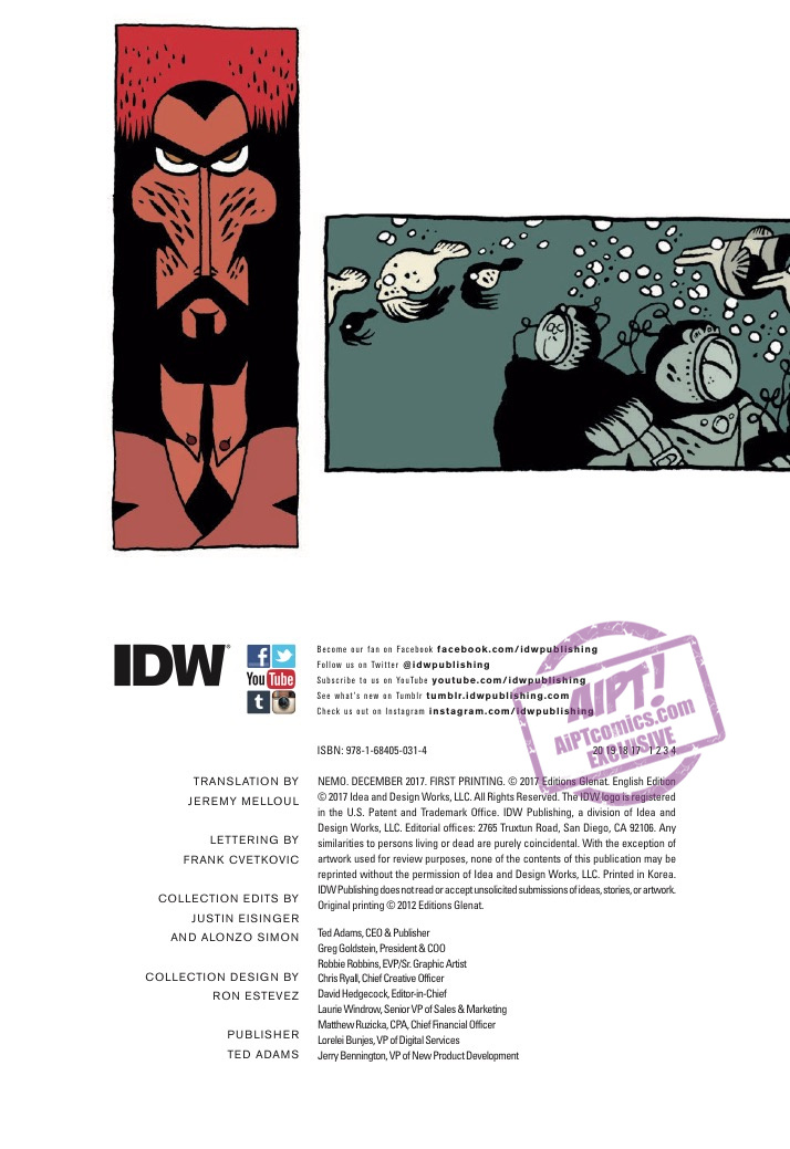[EXCLUSIVE] IDW Preview: Nemo HC