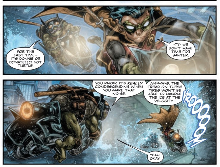 Batman/Teenage Mutant Ninja Turtles II #2 Review