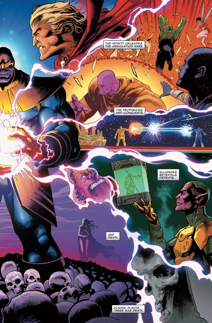 Marvel Preview: Thanos #14