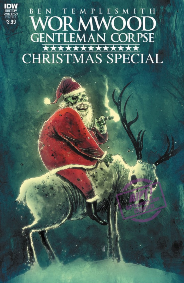 [EXCLUSIVE] IDW Preview: Wormwood, Gentleman Corpse Christmas Special