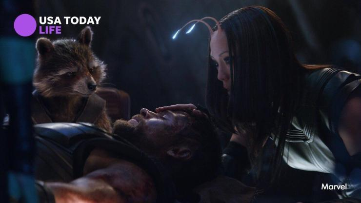 Newest photo from 'Avengers: Infinity War' features Thor, Mantis and Rocket Raccoon