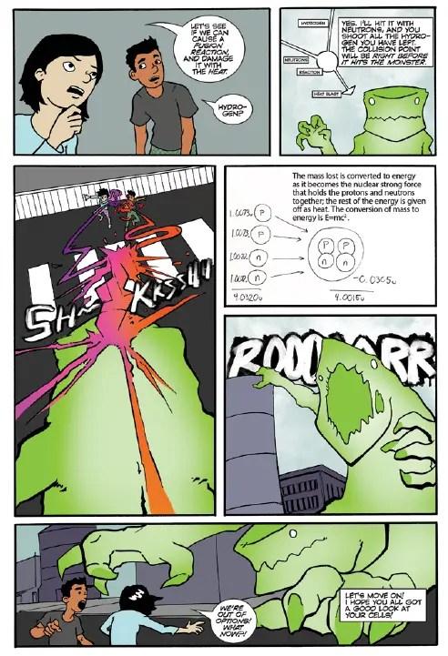 EureKids! -- Educational graphic novel 'CheMystery'