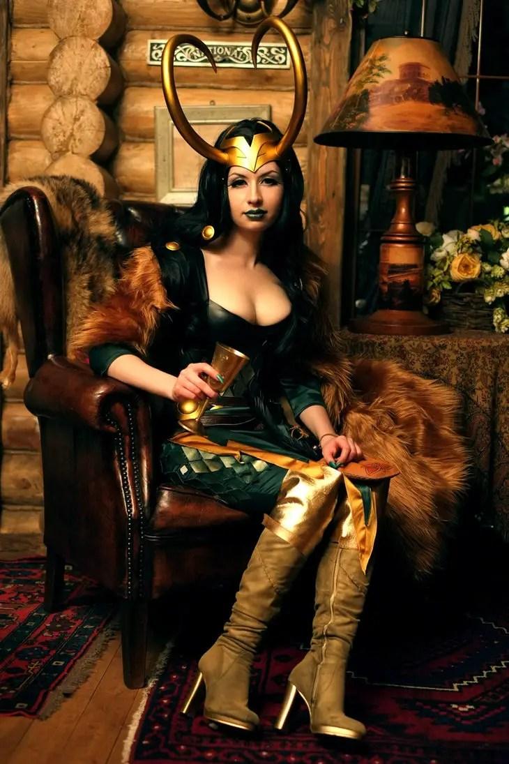 Lady Loki cosplay by souji-yarou