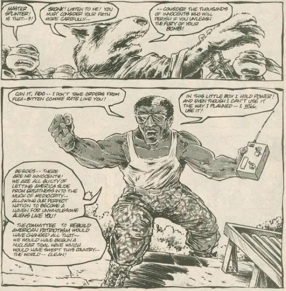 Turtles Skonk from comic