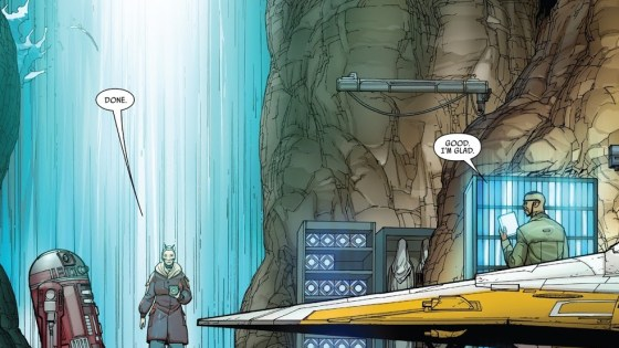 Luke Skywalker, Jedi knowledge, and Jocasta Nu all connect in Darth Vader #10
