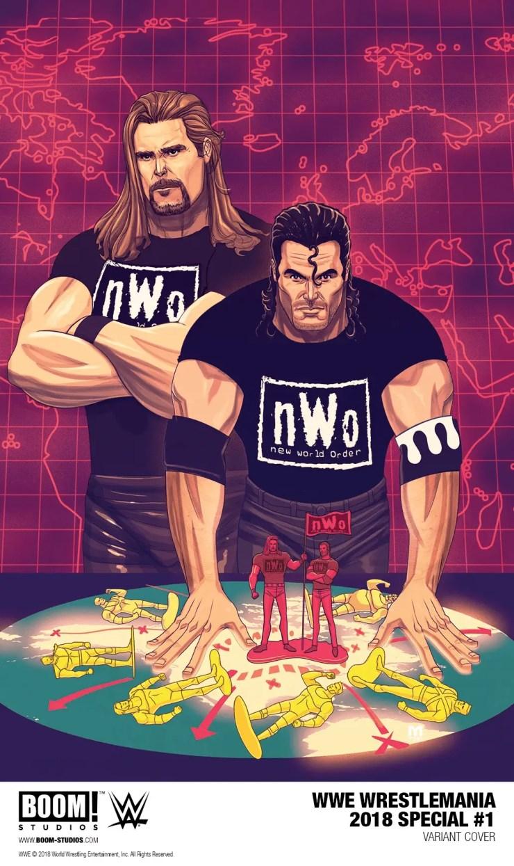 BOOM! Studios announces release of 'WWE WrestleMania 2018 Special' #1