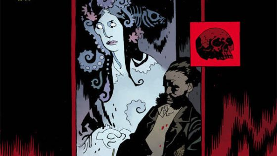 God damn, Mignola and Nixey amp up the weirdness to 11 in this issue.