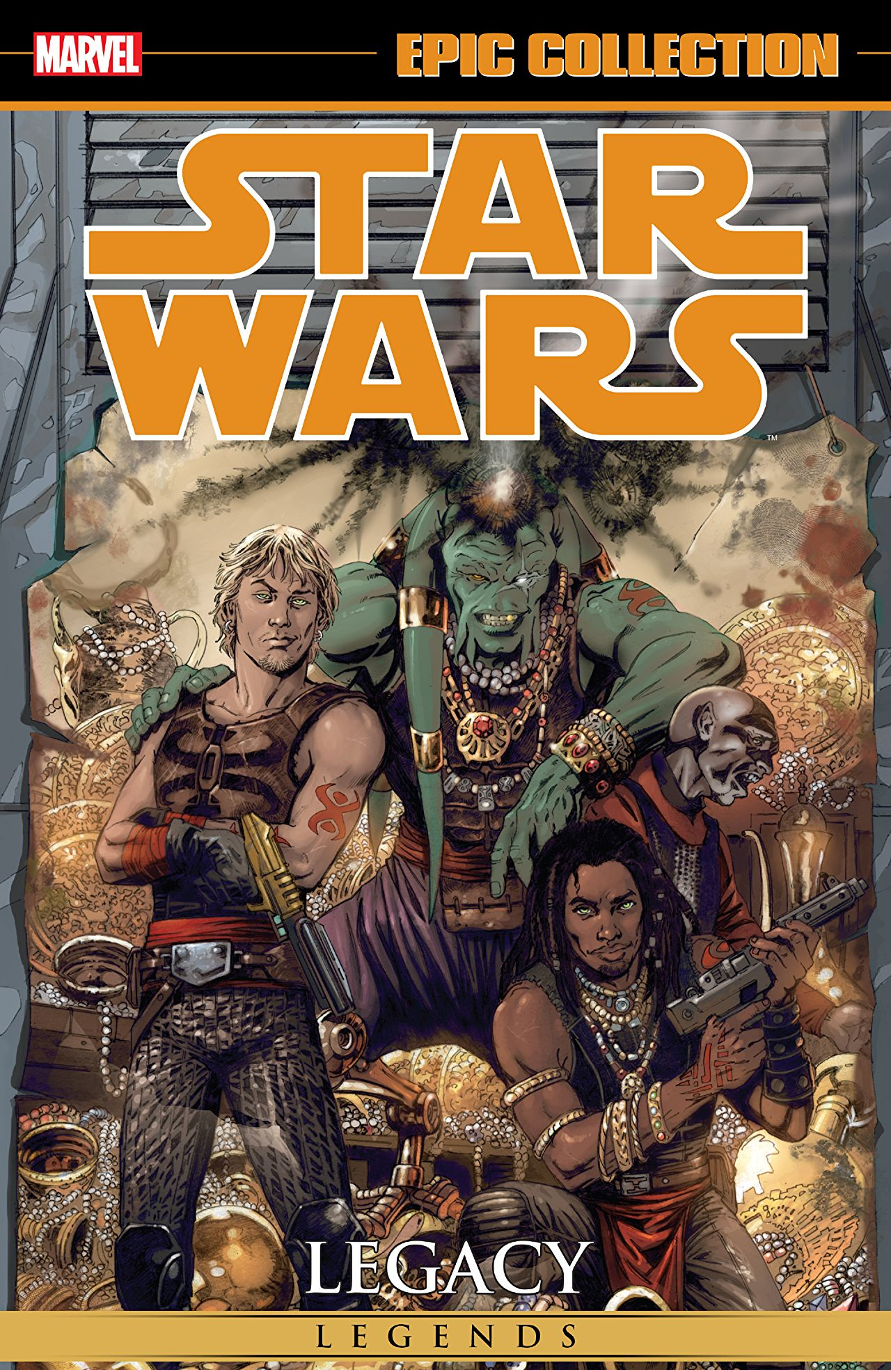 'Star Wars Legends Epic Collection: Legacy Volume 2' review: a story as exciting and as complex as the original trilogy
