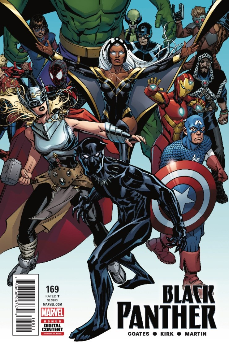 Marvel Preview: Black Panther #169