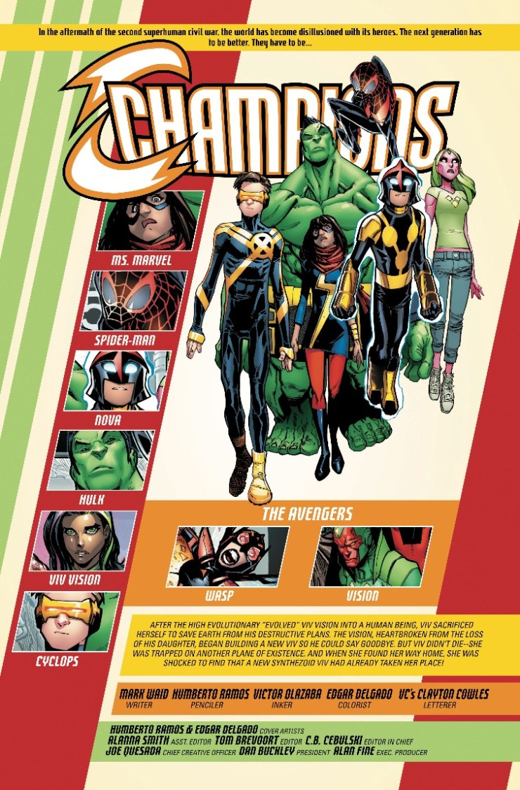 Marvel Preview: Champions #16