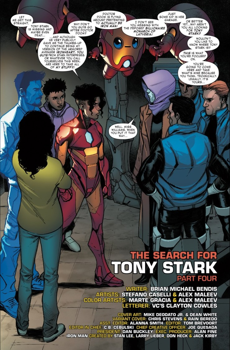 Marvel Preview: Invincible Iron Man #596