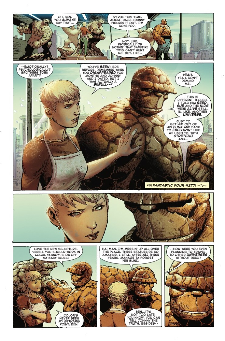 'Marvel Two-In-One Vol. 1: Fate of the Four' review: Zdarsky somehow figured it out