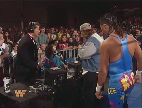 Marty Jannetty and 1-2-3 Kid Confront Johnny Polo