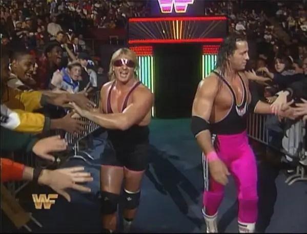 Owen Hart and Bret Hart
