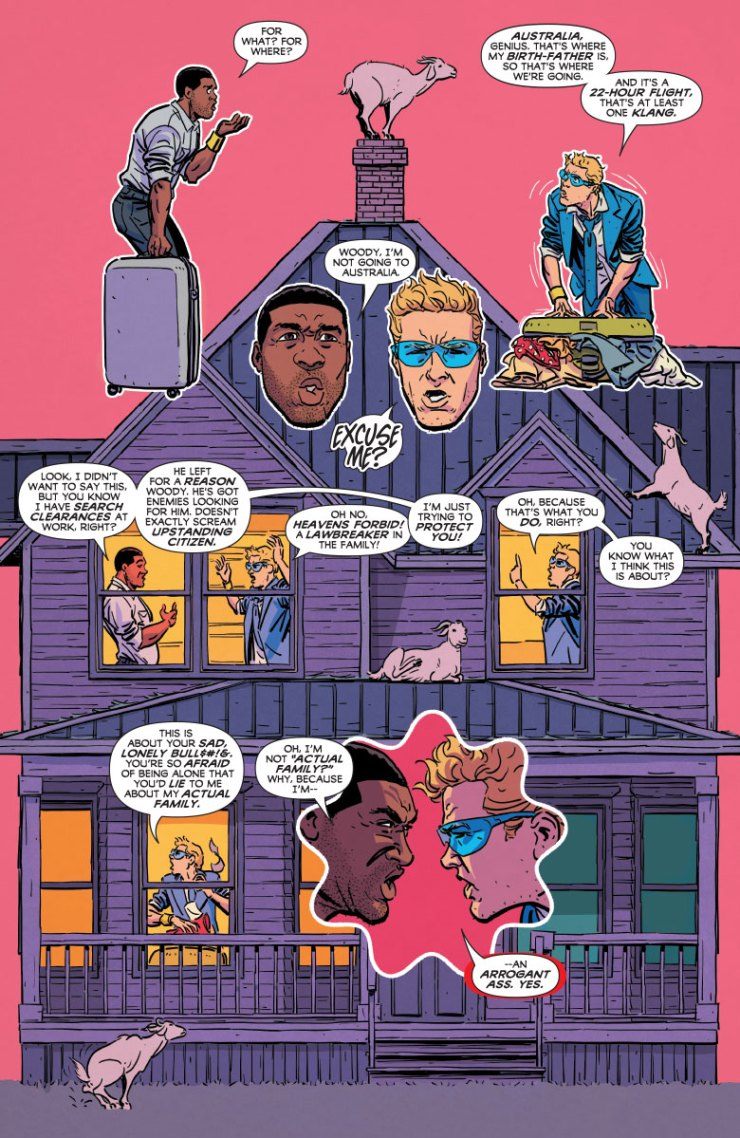 Valiant Preview: Quantum and Woody! #2
