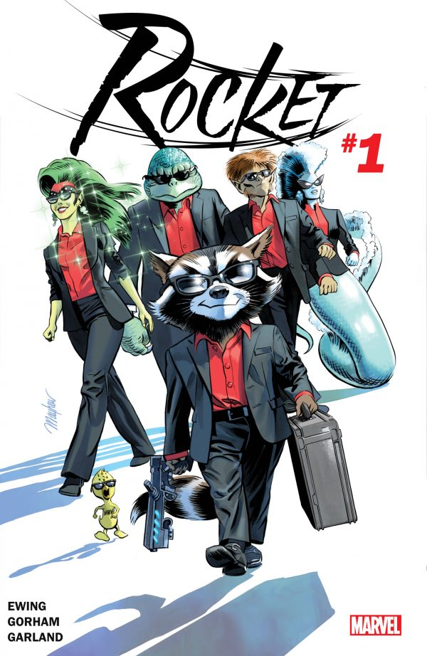 'Rocket: The Blue River Score' is a different take on Rocket Raccoon