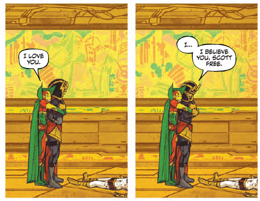 Mister Miracle and Big Barda have big news in Mister Miracle #6