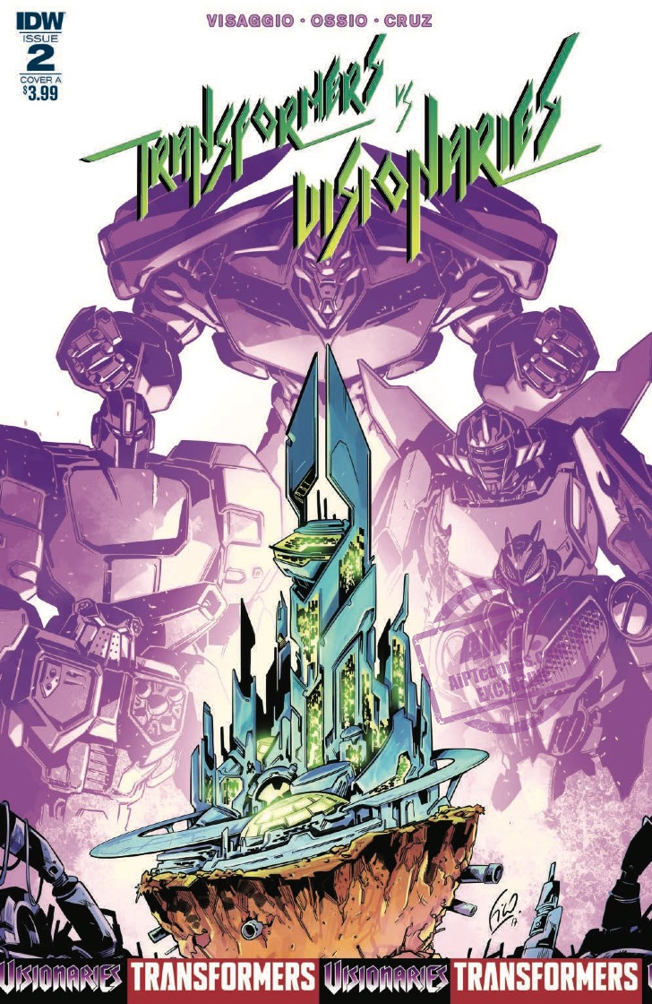 [EXCLUSIVE] IDW Preview: Transformers Vs. Visionaries #2
