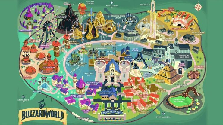 Overwatch's new map, 'Blizzard World' set to open next week