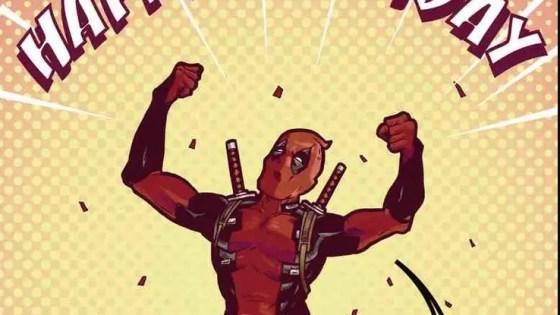 Ever wonder what sort of birthday gift Deadpool would send R&B singer Zayn?