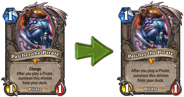 Hearthstone: Upcoming balance changes include nerfs to Bonemare, Corridor Creeper and Patches the Pirate