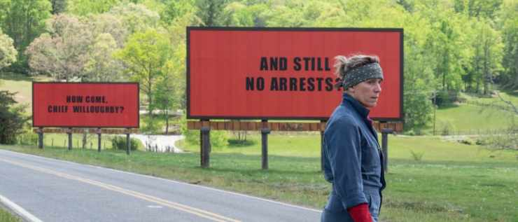 And the Golden Globe goes to...Three Billboards surprises while Big Little Lies doesn't