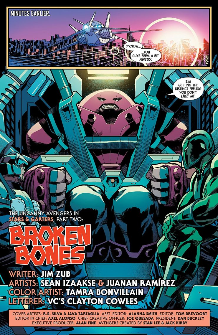 'Uncanny Avengers: Unity Vol. 5: Stars and Garters' review: Winding down and resetting