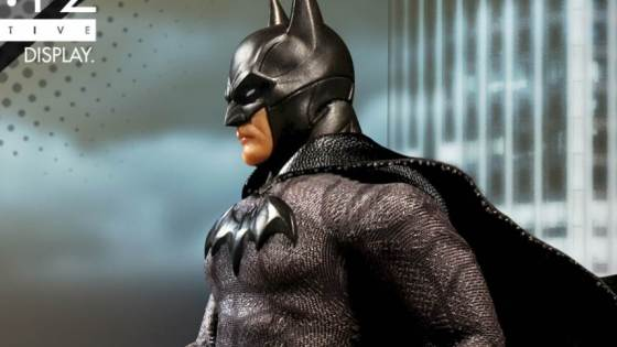Mezco has just shared a preview image for their upcoming One:12 Collective Sovereign Knight Batman figure. Batman will be on display at Mezco's booth during the New York Toy Fair which begins this Saturday, February 17th.