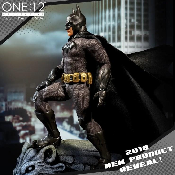 Mezco Previews The One: 12 Collective Sovereign Knight Batman