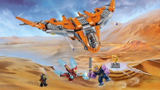 These official images from the upcoming Lego 'Avengers: Infinity War' sets reveal further story details.