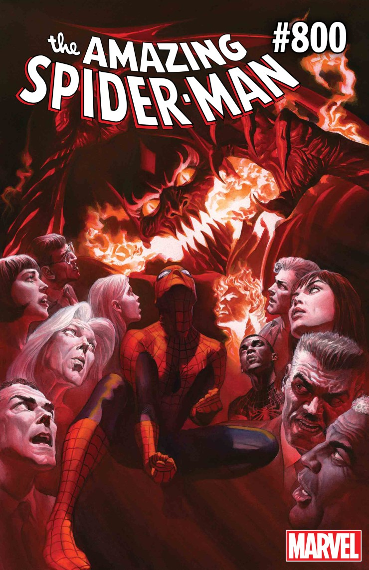 Amazing Spider-Man #800 brings the final showdown between Red Goblin and Spidey