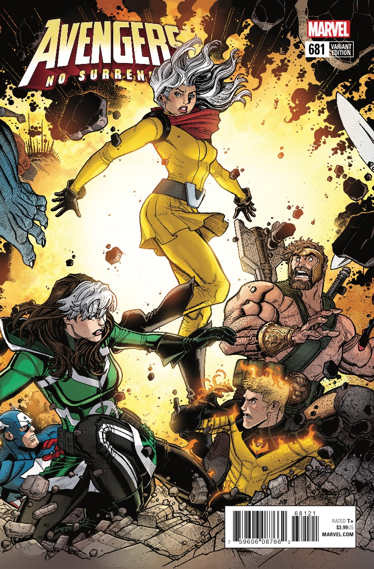 Avengers #681 review: Voyager's origin and sympathy for Captain Glory