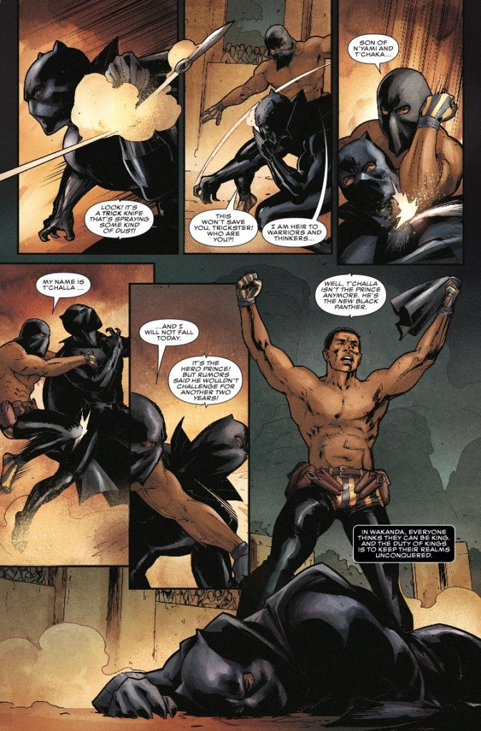 Rise of the Black Panther #2 Review