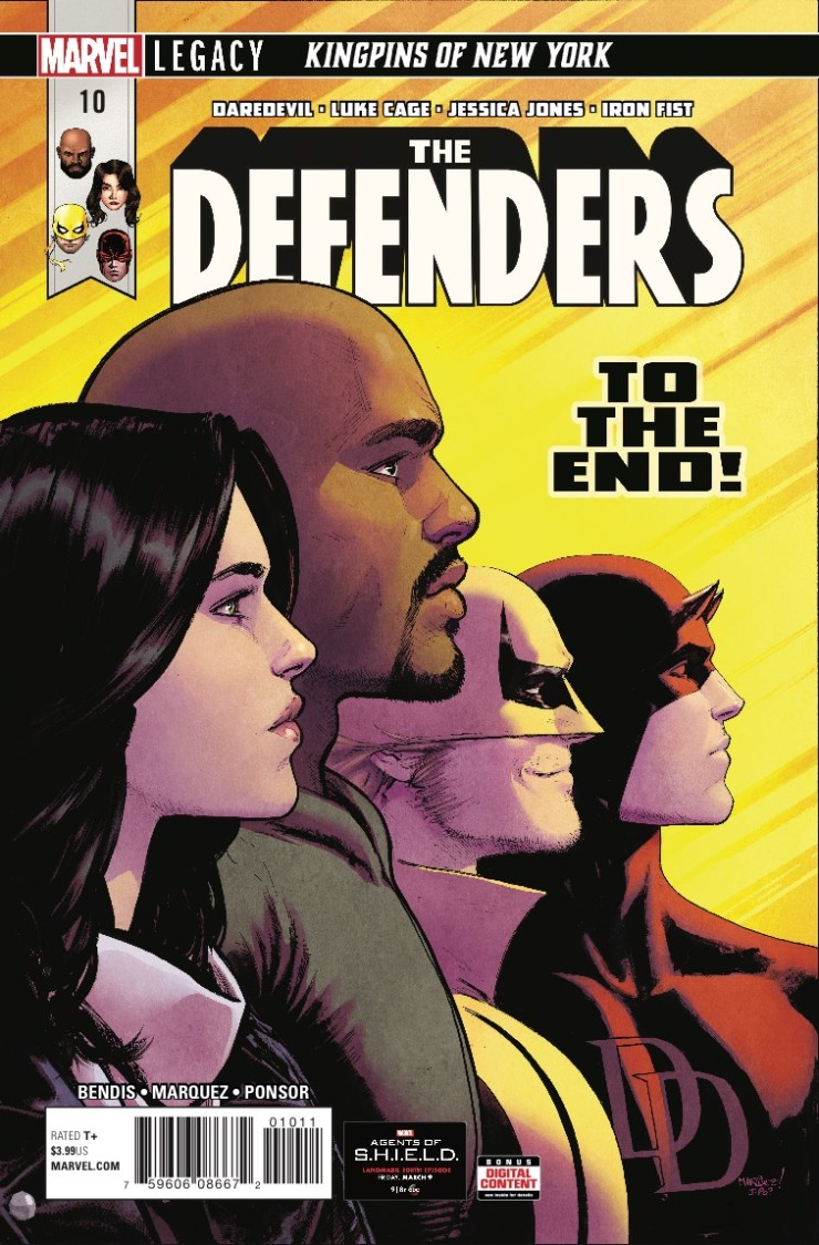 Marvel Preview: The Defenders #10