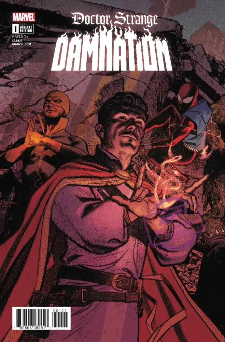 [EXCLUSIVE] Marvel Preview: Doctor Strange: Damnation #1